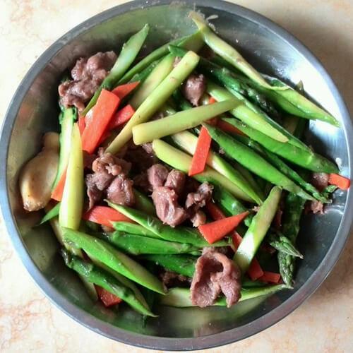 芦笋超肉片