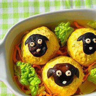 【DIY】三羊开泰虫草花萝卜丸