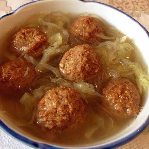 DIY-冬笋肉丸汤