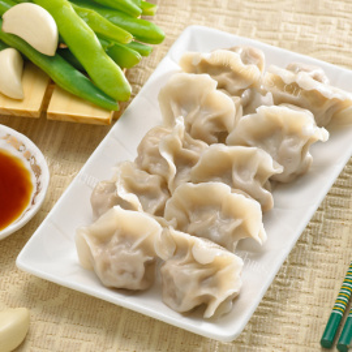 虾皮胡萝卜肉饺