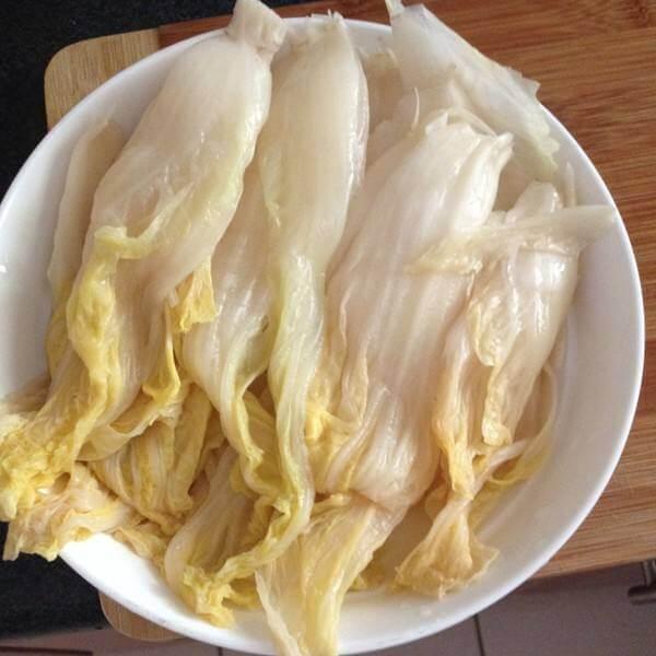好吃的腌渍东北酸菜