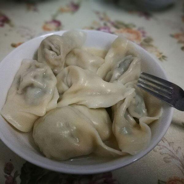 芹菜羊肉水饺(简单版)