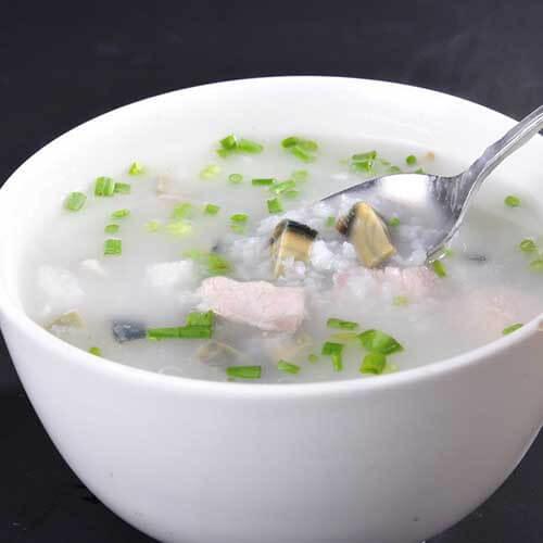 白果瘦肉粥