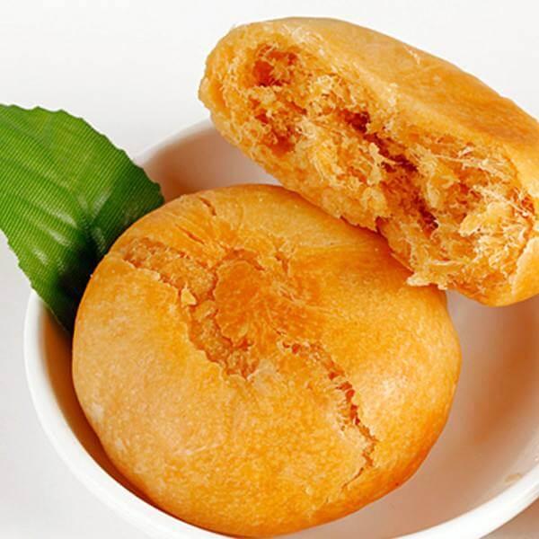 自制金丝咖喱饼