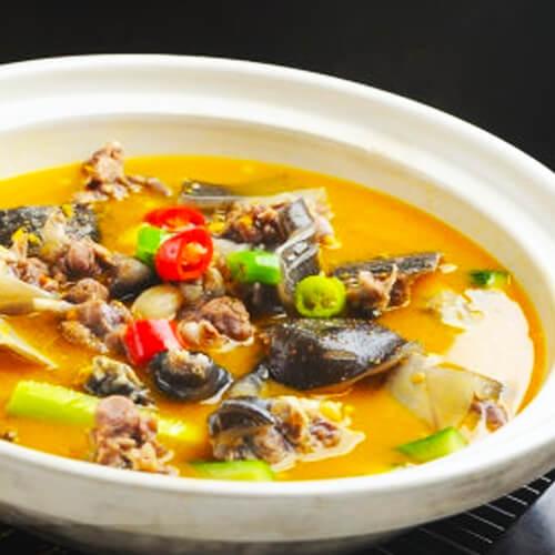 美味黄焖甲鱼