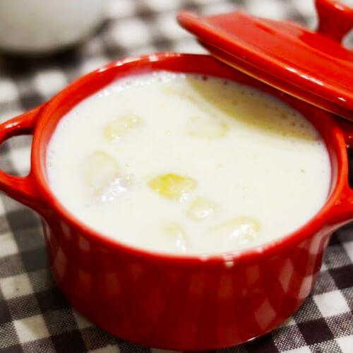 牛奶香蕉浓汤