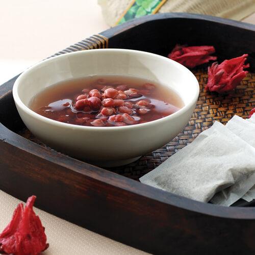 黑芝麻红豆汤