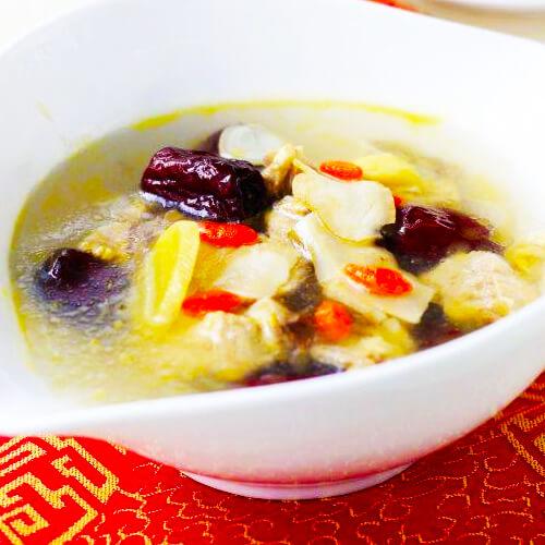 DIY-西洋参红枣鸡汤