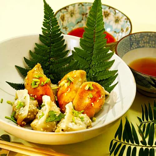 美美厨房之翡翠白菜饺
