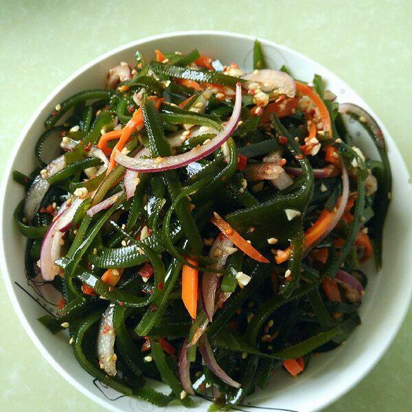 海带拌鲜蔬