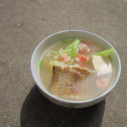 DIY-豆腐虾仁鱼汤