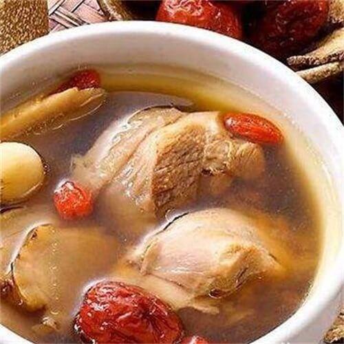 红枣马蹄炖兔肉