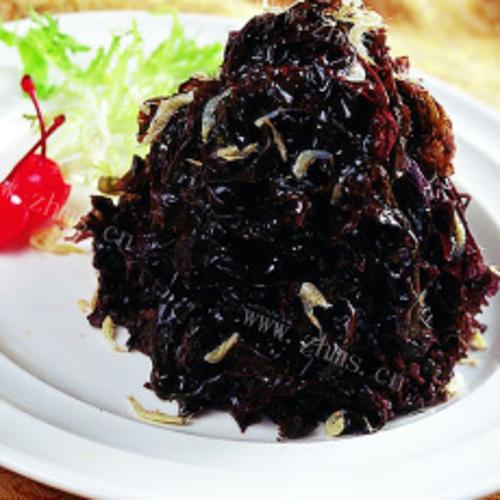 酸辣拌紫菜(简单版)