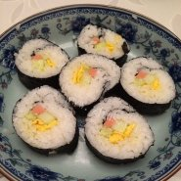 简单易做厚蛋握寿司
