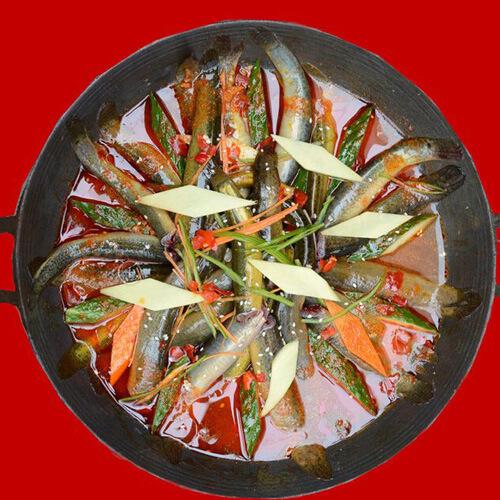 椒香炒泥鳅
