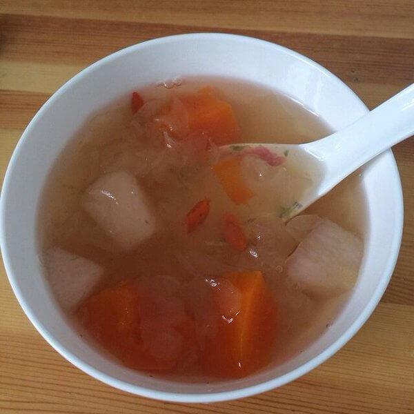 好喝的红酒木瓜汤