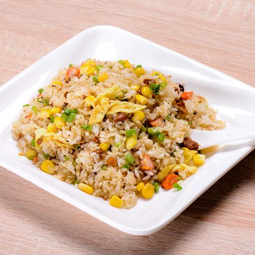 【DIY美食】培根彩蔬炒饭
