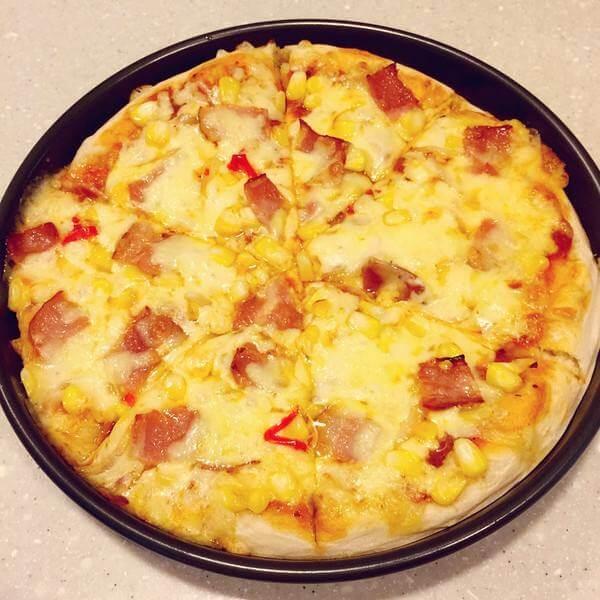 南瓜培根披萨