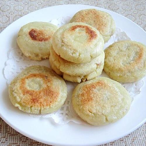 健康的芝麻豆渣糯米饼