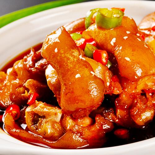 黄豆卤猪手(家常菜)