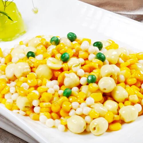 莲子玉米饭