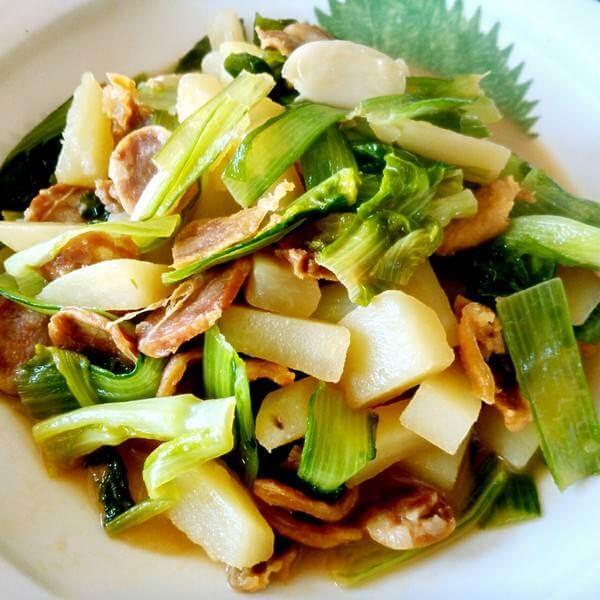 土豆白菜炒肉