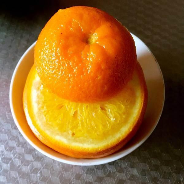 【健康美食】蒸盐橙