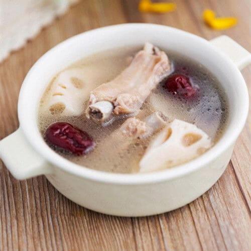 好喝的松茸莲藕排骨汤