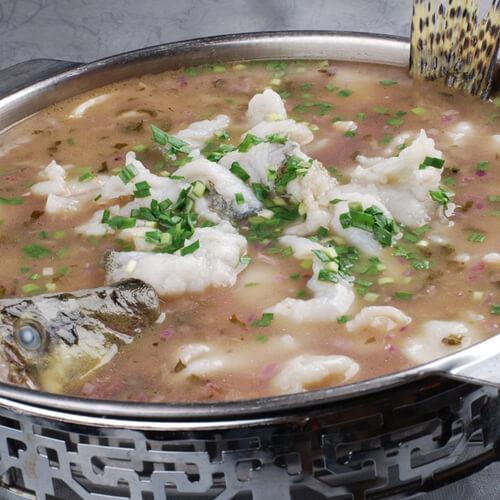 桂鱼豆腐汤