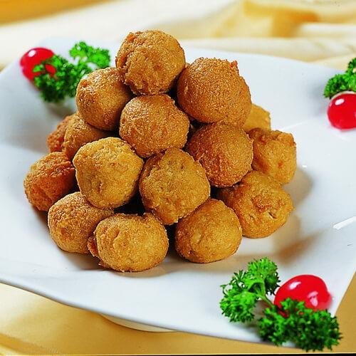 藜麦豆腐丸子