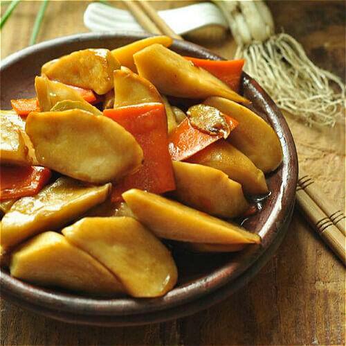 可口的蠔油杏鲍菇