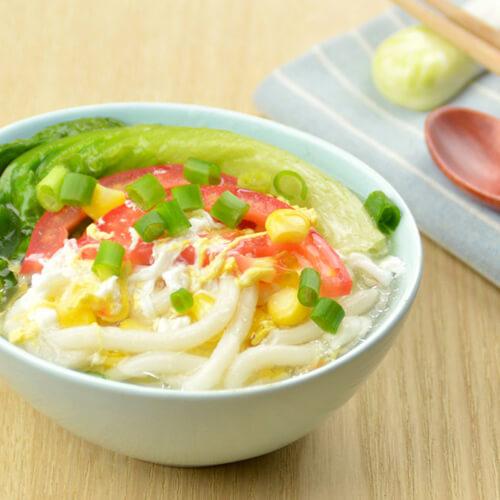 大白菜面汤