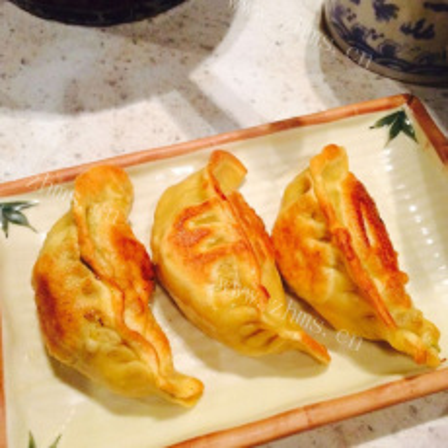 莲藕猪肉煎饺