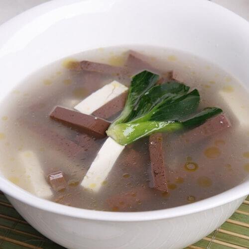 羊肉豆腐汤的做法