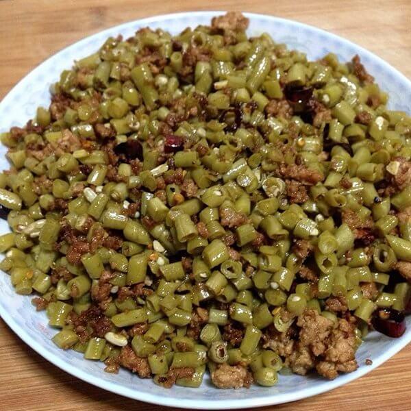 好吃的泡酸豇豆的做法