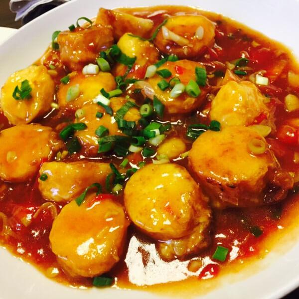 外婆做的鱼香豆腐