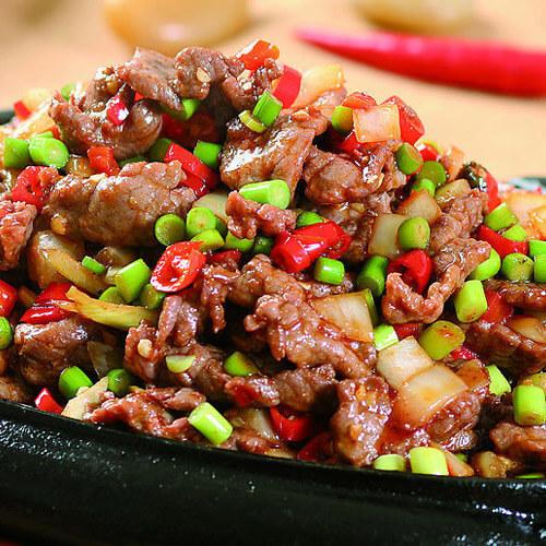 铁板牛肉的做法