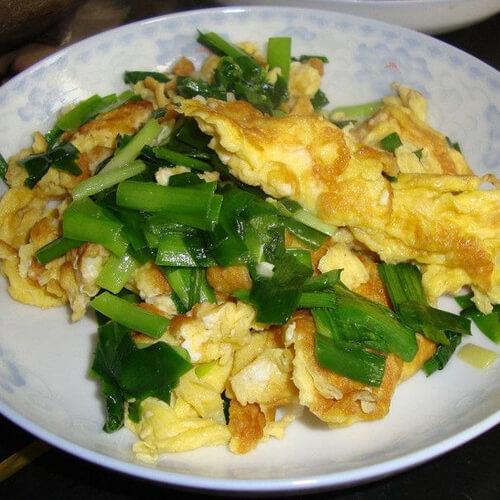 常吃不腻的韭菜炒蛋