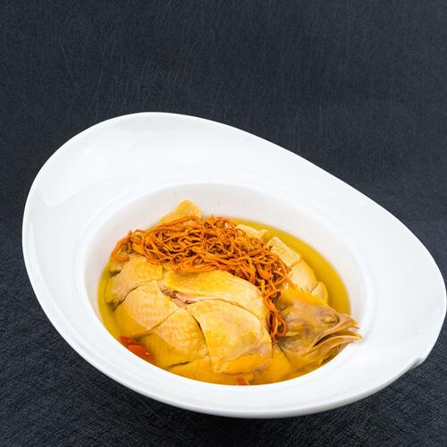 仙草土鸡汤