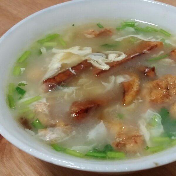 美味的韭菜粥