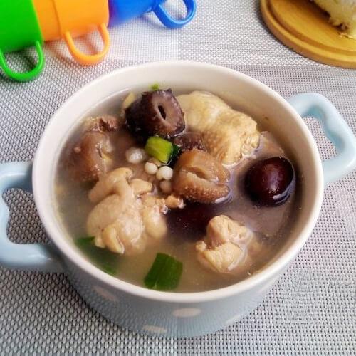 红枣鸡腿汤