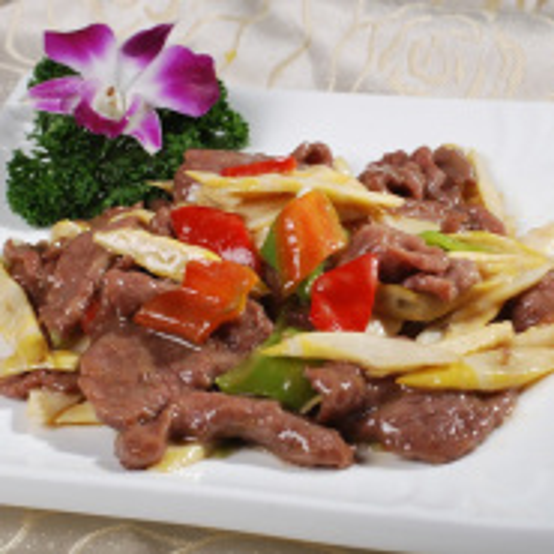 竹笋牛肉的做法