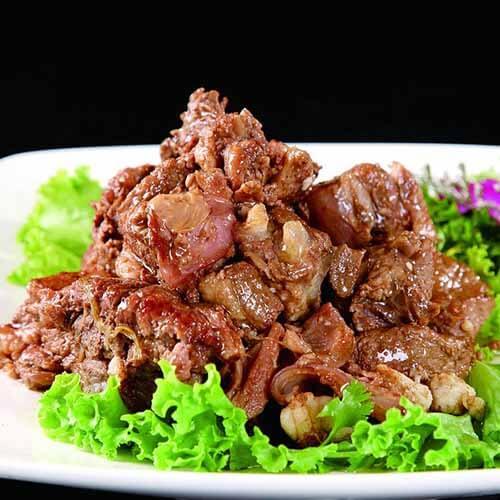 美味的红闷羊肉的做法