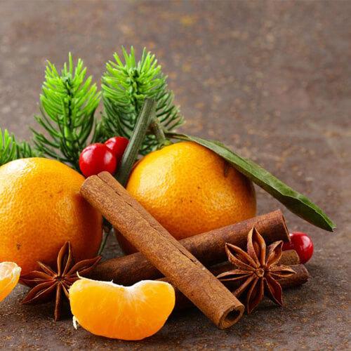 美味的清炒橘子