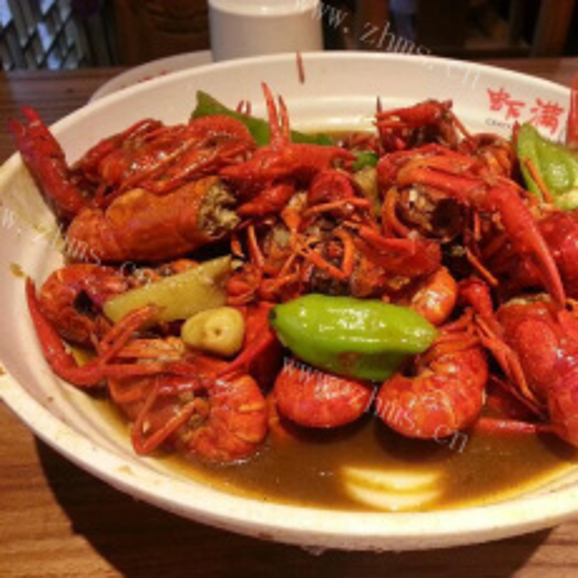 美味黄焖龙虾