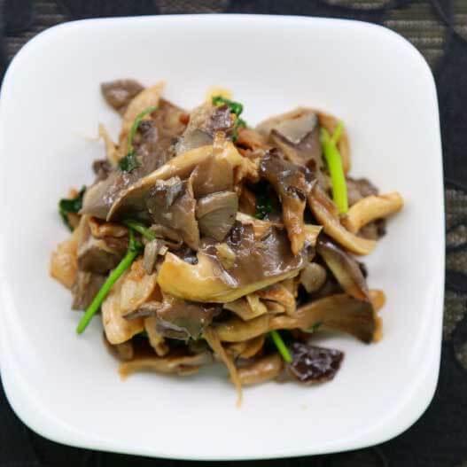 猪肉炒蘑菇的做法