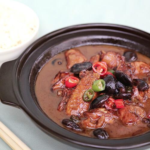 排骨焖米饭
