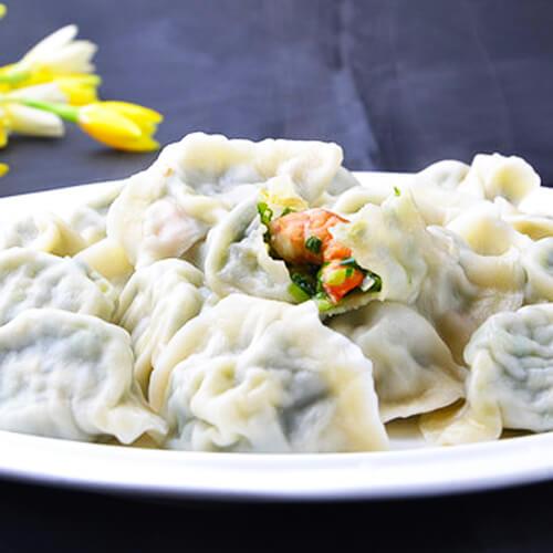 玉皇蘑菇肉馅饺子