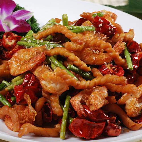 好吃的麻辣虾香锅