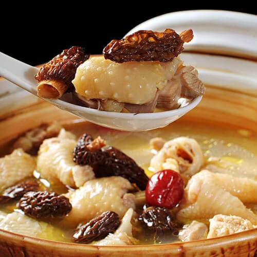 美味火锅鸡的作法